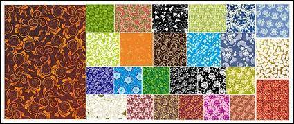 free vector 25 practical pattern background material vector