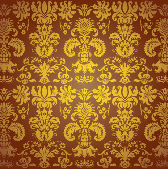 free vector Beautiful seamless pattern