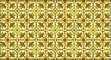 Classic tile pattern vector-3