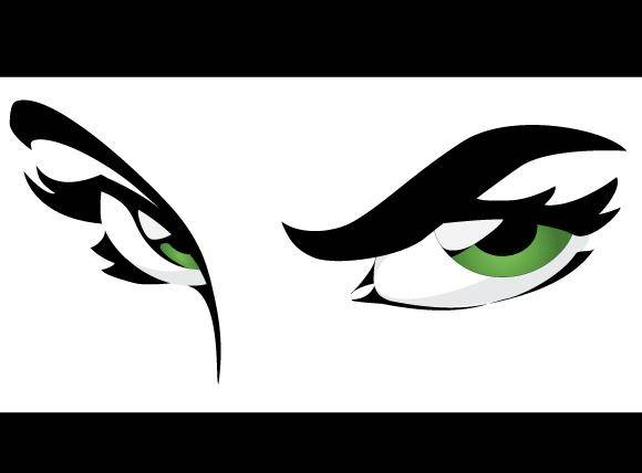 free vector Green Eyes