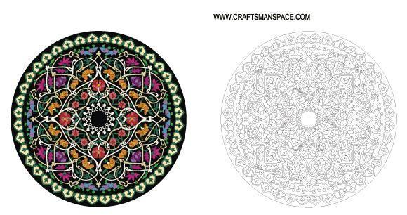free vector Round Ornament