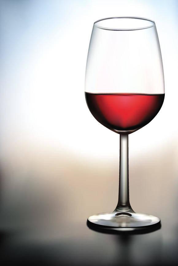 free vector Glass of Wine Vector