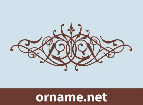 free vector Calligraphy Ornament
