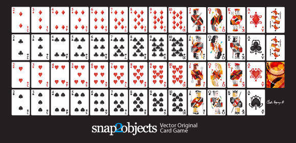 free vector Free Vector Playing Cards Deck