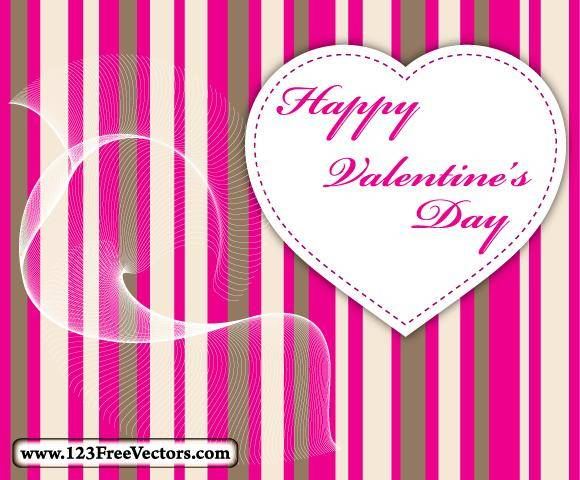 free vector Valentine Card Vector