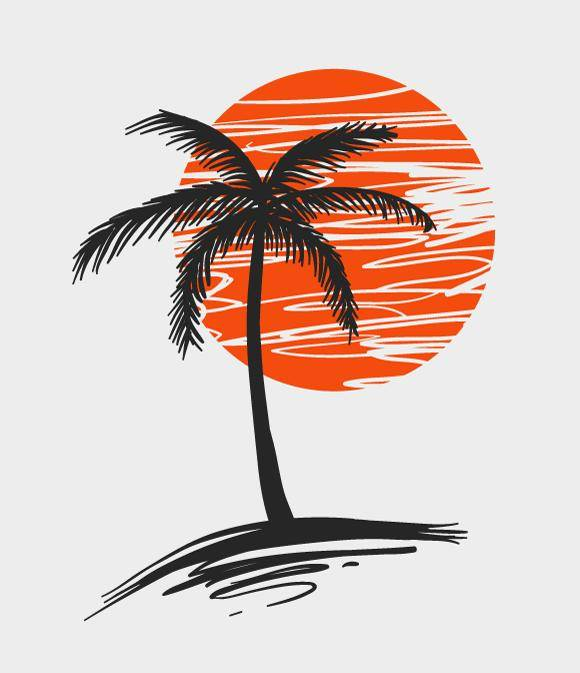 free vector Palm Tree
