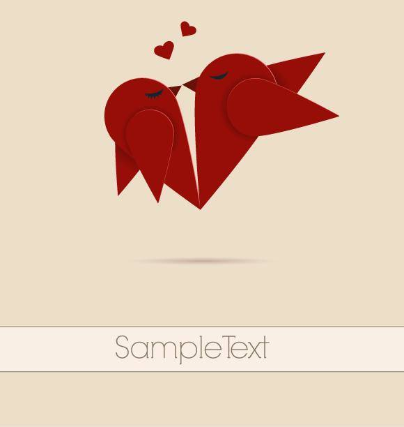 Vector lovebirds