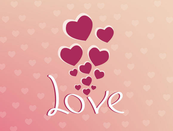 free vector Vector for Valentines Day