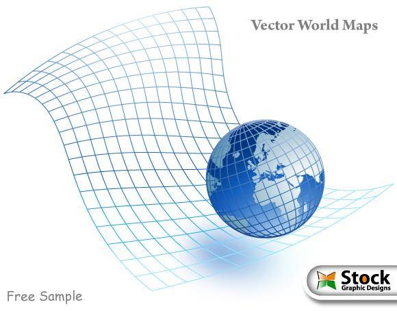 free vector Vector World Maps