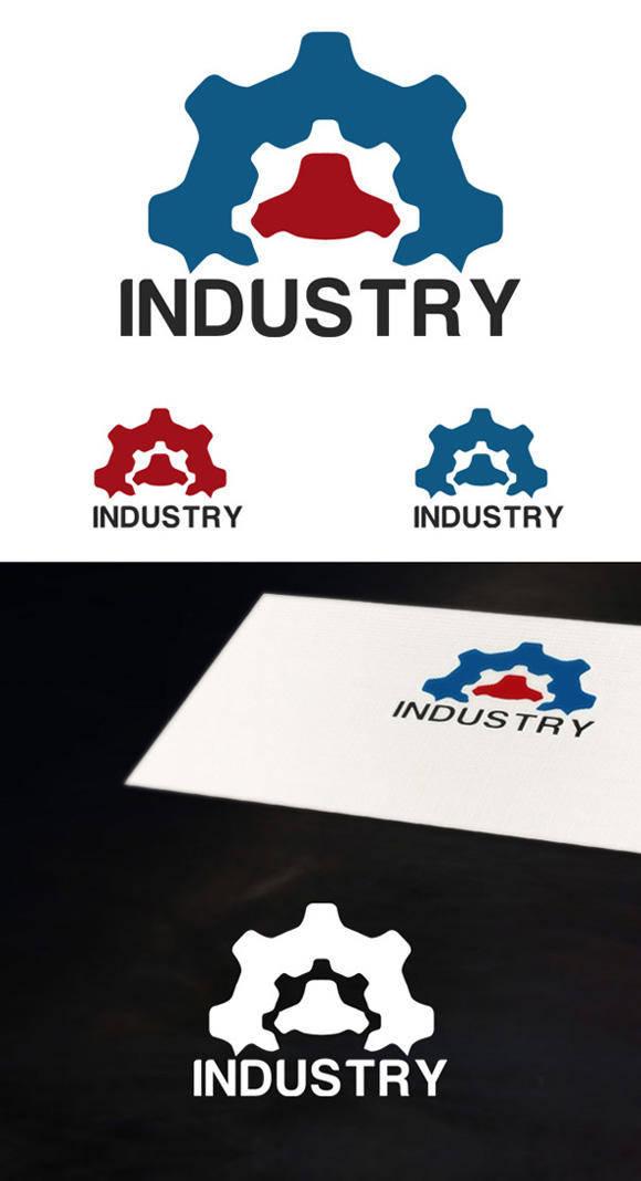 free vector Industrial logo