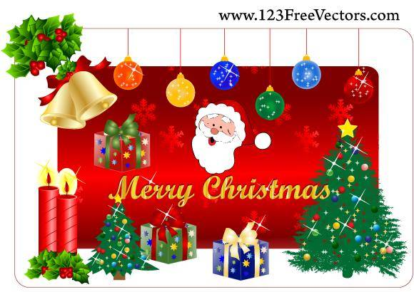 Christmas Gift Free Vector Pack