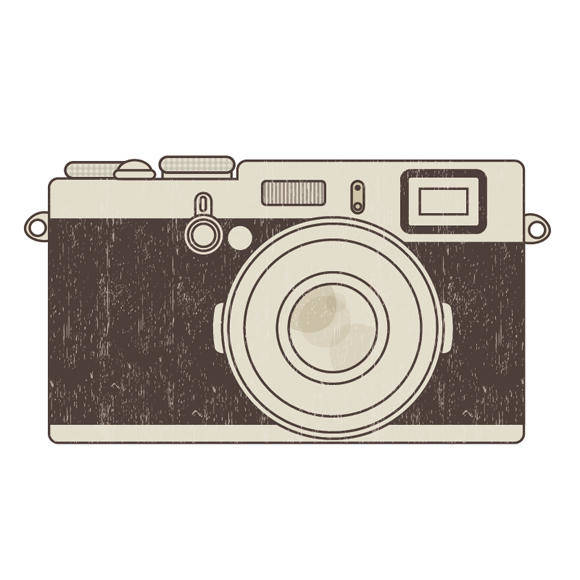 free vector Retro photo camera