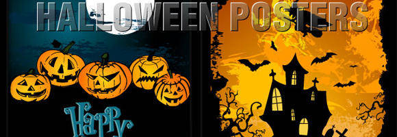 free vector Vector Halloween Templates