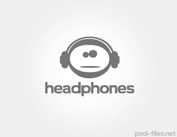 free vector Vector Headphones Logo