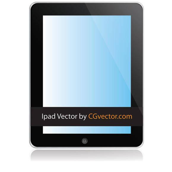 free vector Free Vector ipad illustration