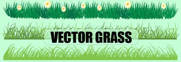 free vector Vector Grass