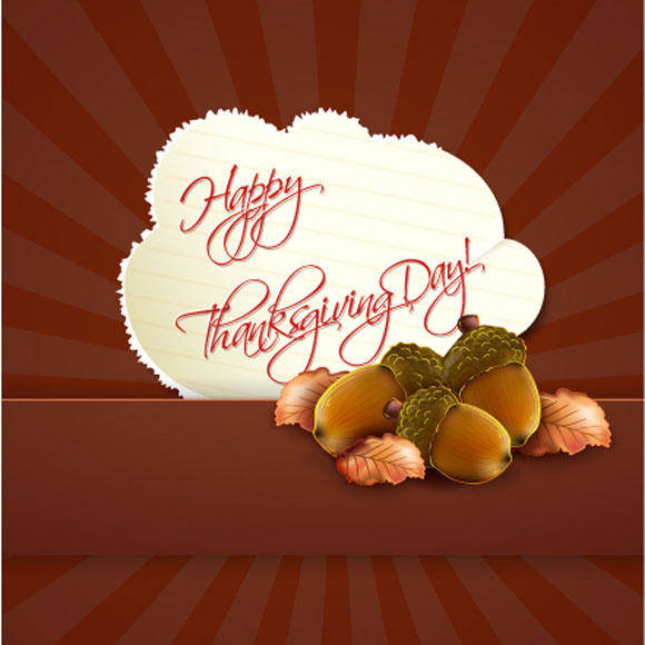 free vector Happy Thanksgiving Day Vector