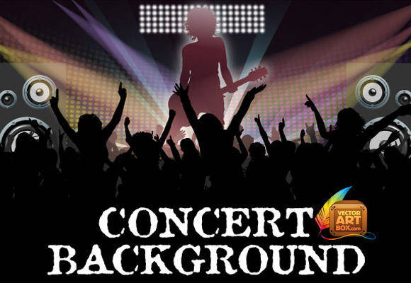 free vector Awesome Free Vector Concert Background