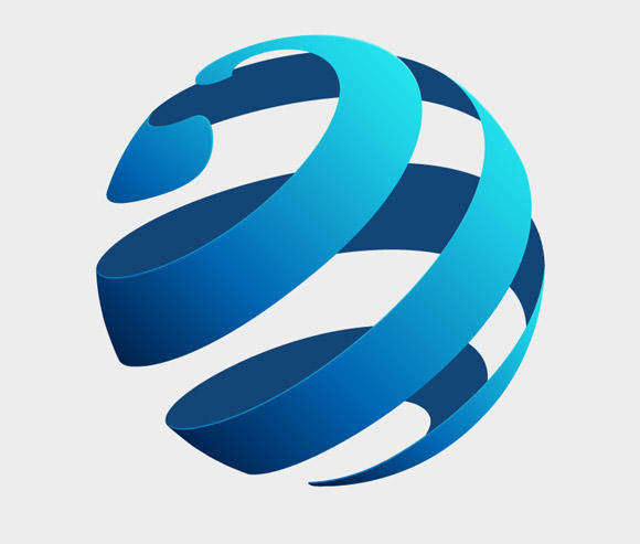 free vector Globe Logo Concept