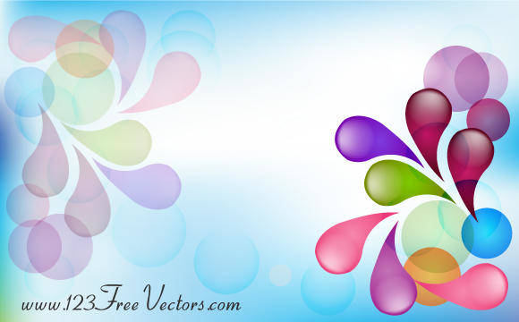free vector Abstract Colorful Background Vector Image