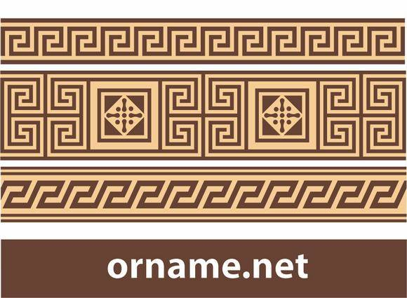 Greek ornament – meander