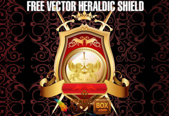 free vector Great Free Vector Heraldic Shield