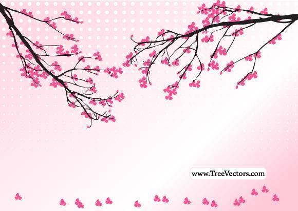 free vector Blossom Tree Vector