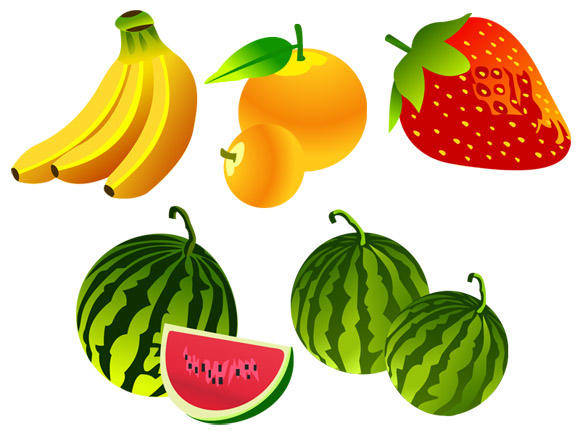 free vector Free Vector Fruit