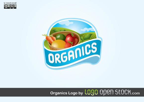 free vector Organics Logo Vector Design