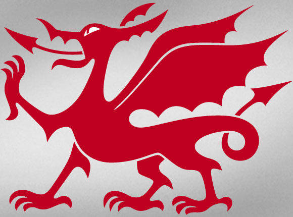 free vector Welsh Dragon