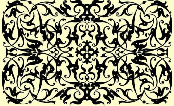 free vector Ornamental Panel