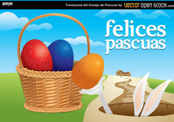 free vector Easter Vector Illustration
