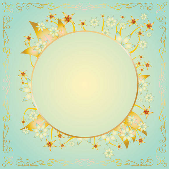free vector Gold Frame Design Vector