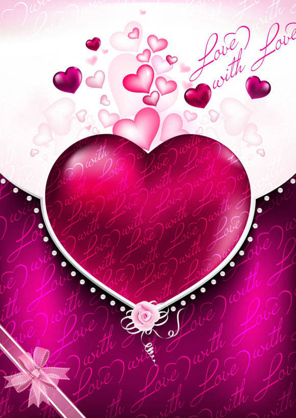 free vector Free Valentines Background