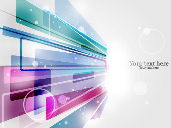 free vector Cool Abstract Background
