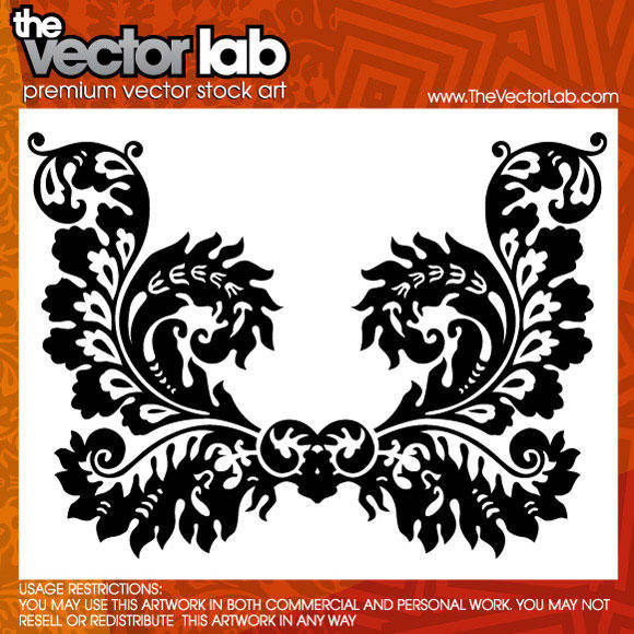 free vector Ornamental Flourish Vector