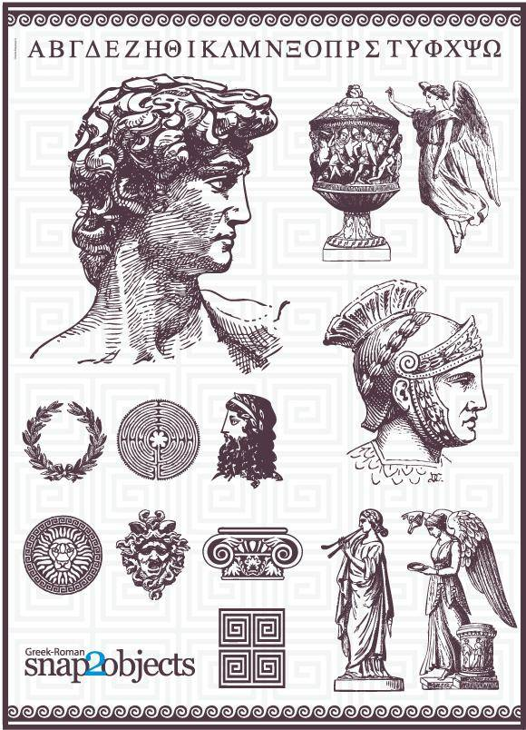 free vector Roman Vector Pack