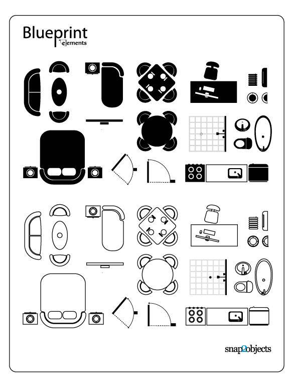 Blueprint Vector Elements
