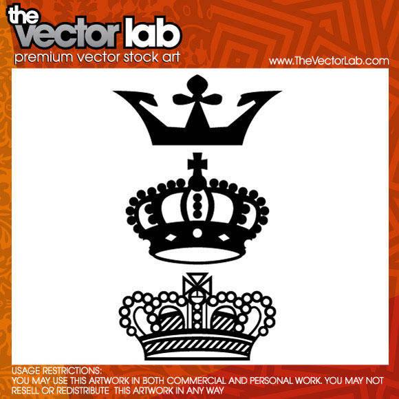 free vector Crown Vector