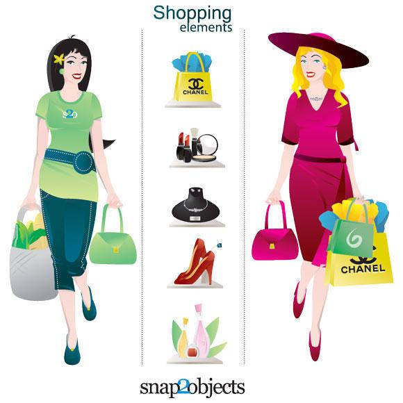 free vector Shopping Vector