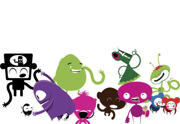 free vector Monster Vector Pack