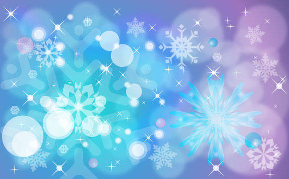 free vector Free Vector Winter Background