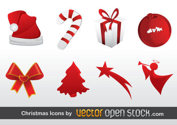 free vector Christmas Free Vector Icons
