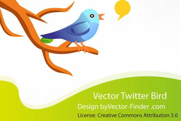 free vector Free Vector Twitter Bird