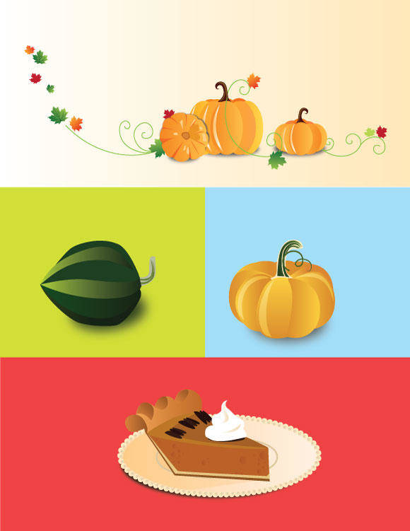 free vector Pumpkin Things
