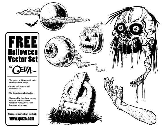 free vector Free Halloween Vector Pack