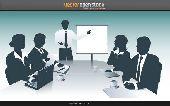 free vector Business Presentation