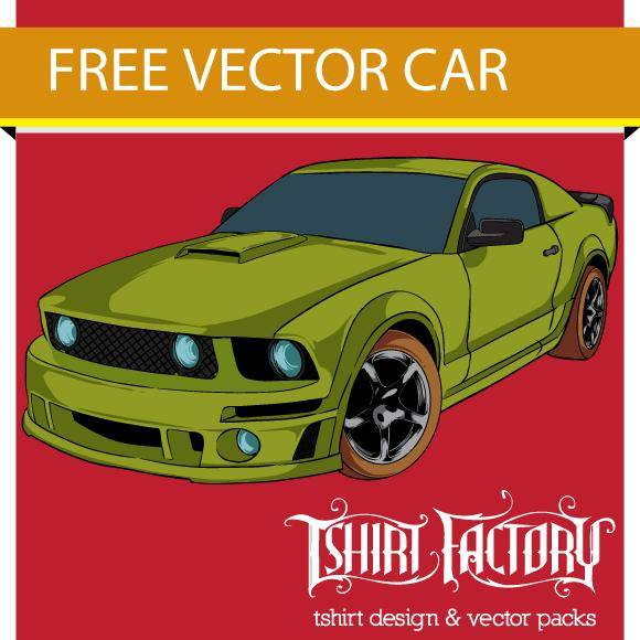 free vector Free Vector Car