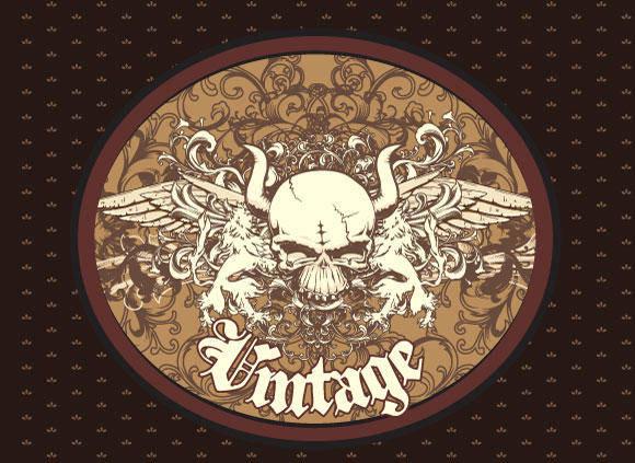 free vector Free Vector Vintage Emblem