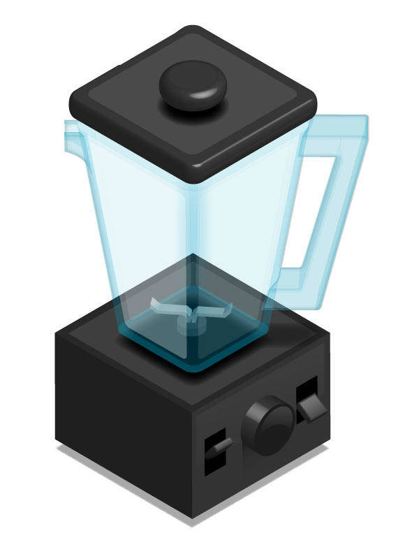 free vector High Speed Blender
